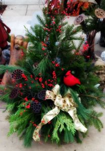open house, christmas urn for sale